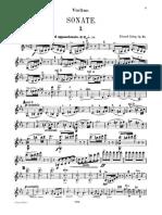 Grieg Sonata No. 3 Violin Part Formatted