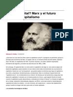 ¿Capital digital? Marx y el futuro  digital del capitalismo