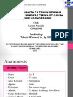 Presentasi Kasus RM- Stroke Haemorragik