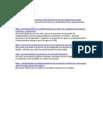 Postulaciones Financiamiento 30 de Agosto