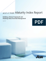 Aon Risk Maturity Index Report 041813