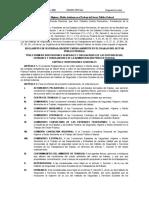 Reglamento de Seguridad, Higiene y Medio Ambiente en El Trabajo Del Sector Público Federal