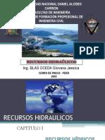 Clase 01 - Recursos Hidricos