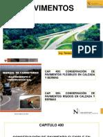 Conservación y Mantenimiento de Pavimentos