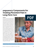 Regulatory Components for Treating Persistent Pain in Long-Term Care