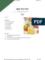 Apple Rosé Cider