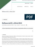Reflexos Da EC n. 80 de 2014 _ CEI - Círculo de Estudos Pela Internet p3-16