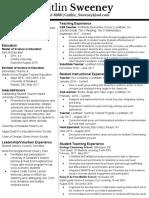 caitlin sweeney resume -7
