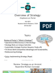 PPT, BUS 479A, Strategy, Porter, Wk 3