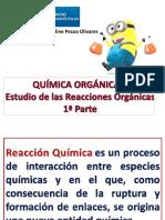 QOI 1 a Estudio de Las Reacciones Org Nicas 1 Parte