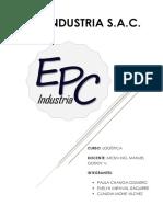 Informe Epc Logistica