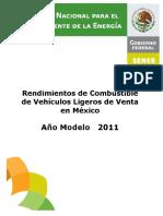 CatalogoRendimientos2011