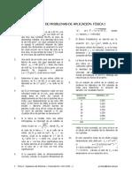 Compendio de Problemas de Aplicación. Examen Final de Física I