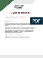 Lectura I Que Es La Ciencia