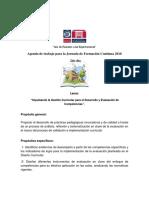 Agenda de trabajo para JORNADA 2DO DIA y TERCER DIA.pdf