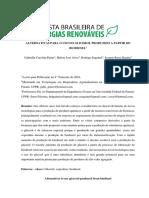 ALTERNATIVAS PARA O USO DO GLICEROL PRODUZIDO A PARTIR DO BIODIESEL