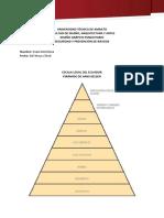 Pirámide Escala Legal