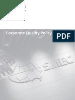 SMEC Quality Policy