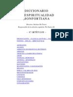 diccionario_espiritualidad mofortiana