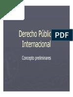Derecho Internacional Publico Concepto Preliminares [Modo de Compatibilidad]