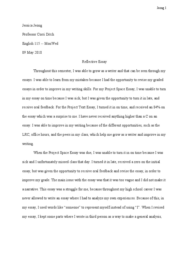 Science And Technology Essay  Term Papers And Essays also Reflective Essay Sample Paper Reflective Essay  Essays  Paragraph English Essay Example