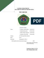 Tray Dryer Sudah Revisi Bab 1, Tabel, Grafik