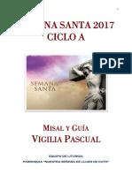 Guión y Misal Vigilia Pascual