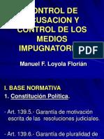 CONTROL+DE+ACUSACIÓN+Y+CONTROL+DE+LOS+MEDIOS+IMPUGNATORIOS+(Loyola+Florián)