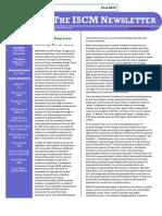 ISCM Newsletter - Vol IV - 1