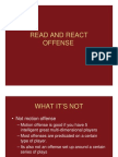Read and React Power Point Notes