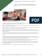 Lewandowski é Quarto Ministro a Votar, e Maioria Nega Liberdade a Lula - Brasil - BOL Notícias