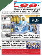 Periódico Lea Jueves 10 de Mayo Del 2018