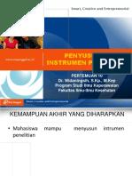 PPT UEU Metodologi Penelitian Keperawatan Pertemuan 10