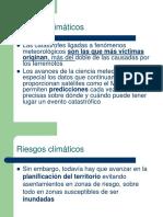 RIESGOS CLIMATICOS