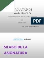 1ra. Semana Rol de La Nut en Prod Animal