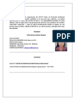 Cv Diana Rueda Moran