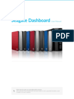 Seagate Dashboard en US