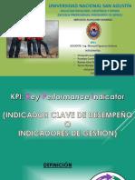 KPI Indicadores Claves de Desempeño Final 2