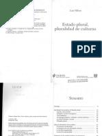 Villoro 2002 - Estado Plural, Pluralidad de Culturas