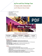 Hongkong Package Tours 2015 Updated