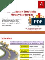 04-LaPlaneacionEstrategica-MetasyEstrategias