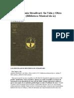 Articulo Libro Stradivari en CODALARIO