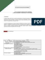 Matriz de contenidos del +írea Transversal y Disciplinar