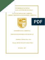 Informe Nº 2 - Geomorfologia Ambiental