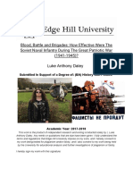 Dissertation by Luke daley