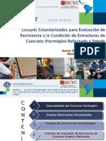 Webinar - Ensayos Estandarizados para Evaluación de Resistencia y-o Condición de Estructuras de Concreto (Hormigón) Reforzado y Simple.pdf