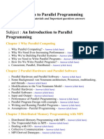 An Introduction to Parallel Programming - Lecture Notes, Study Materials and Important questions answers