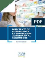 Aspectos Legales de Etiquedado de Alimentos