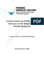 Lecture Notes on Public Health