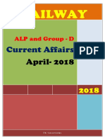April- Current Affairs- 2018